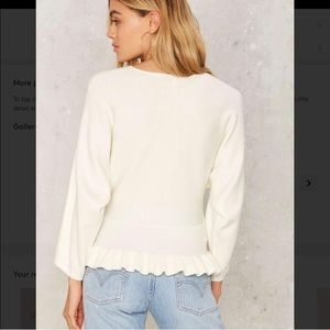 Icing on the Cake Nasty Gal ivory sweater